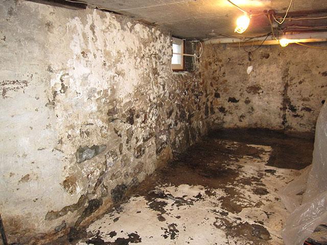 stone foundation repair basement waterproofing massachusetts