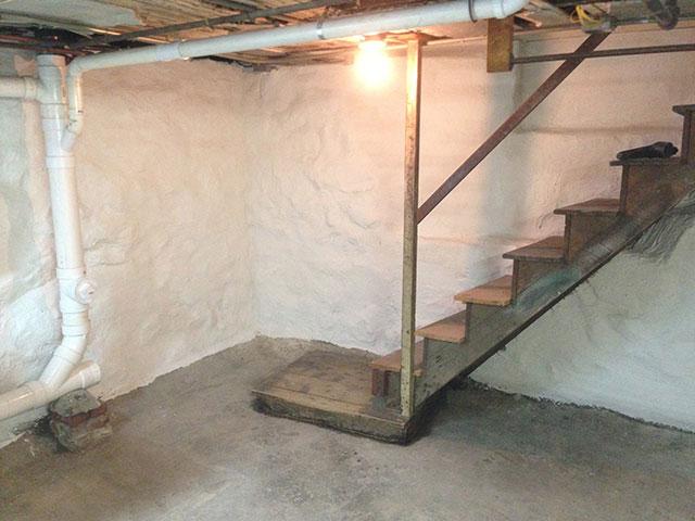 stone foundation repair basement waterproofing