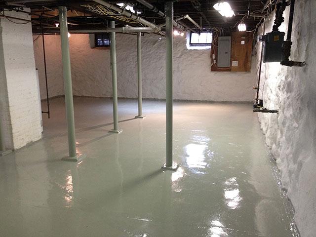 repair stone foundation basement walls